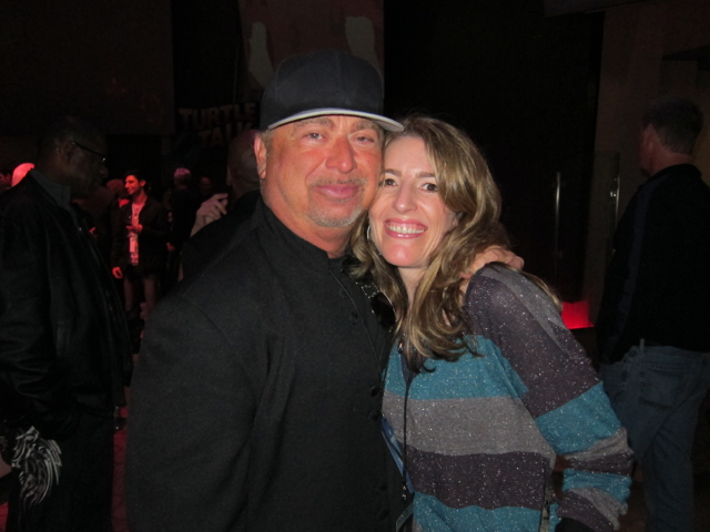 Orna with David Paich