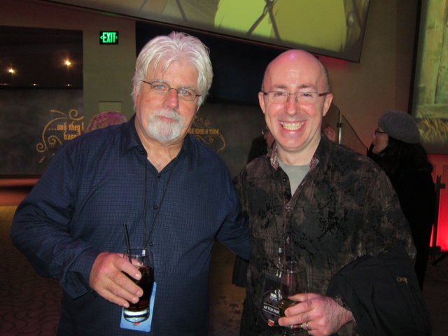 Sam with Michael McDonald