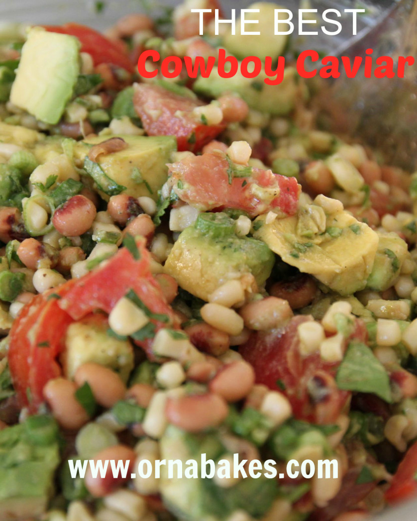 THE BEST Cowboy Caviar - OrnaBakes