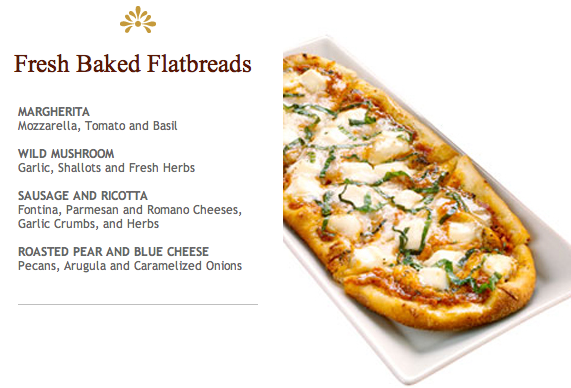 Cheesecake Factory Flatbreads