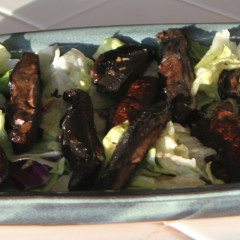 Portabella Mushrooms with Balsamic Marinade—grilled or sautéed