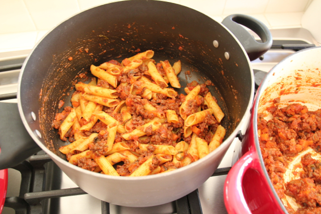 Marry Pasta and Sauce