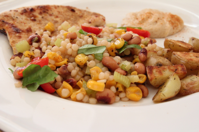 CousCous with Blackeyed Peas.2