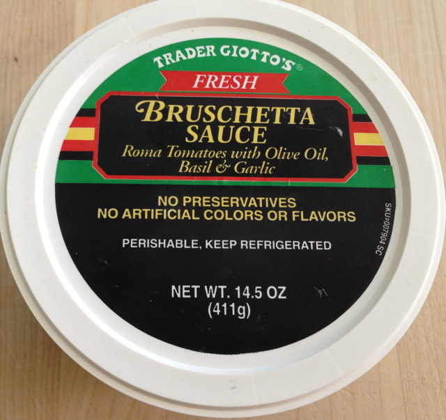 Trader Joe's Fresh Bruschetta Sauce
