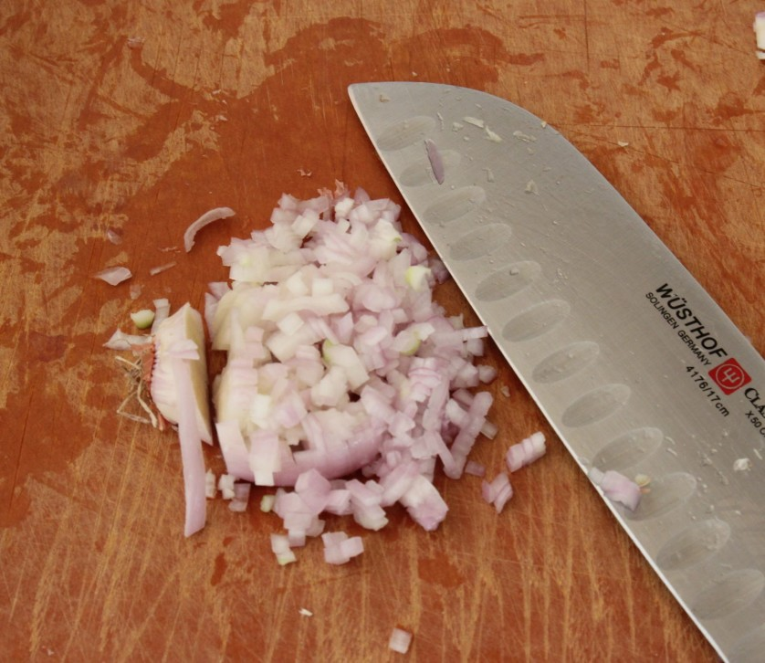 How to Mince a Shallot 2