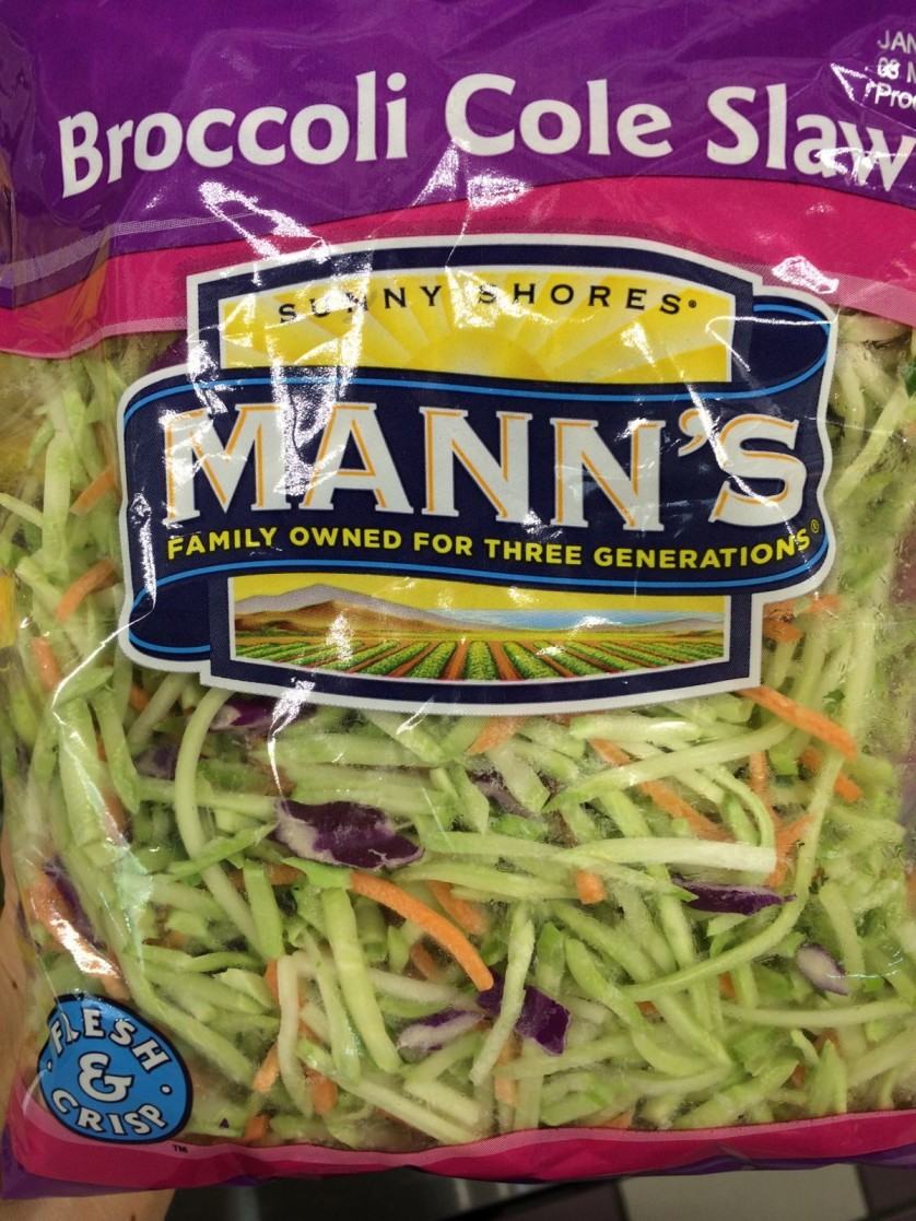 Manns Broccoli Cole Slaw