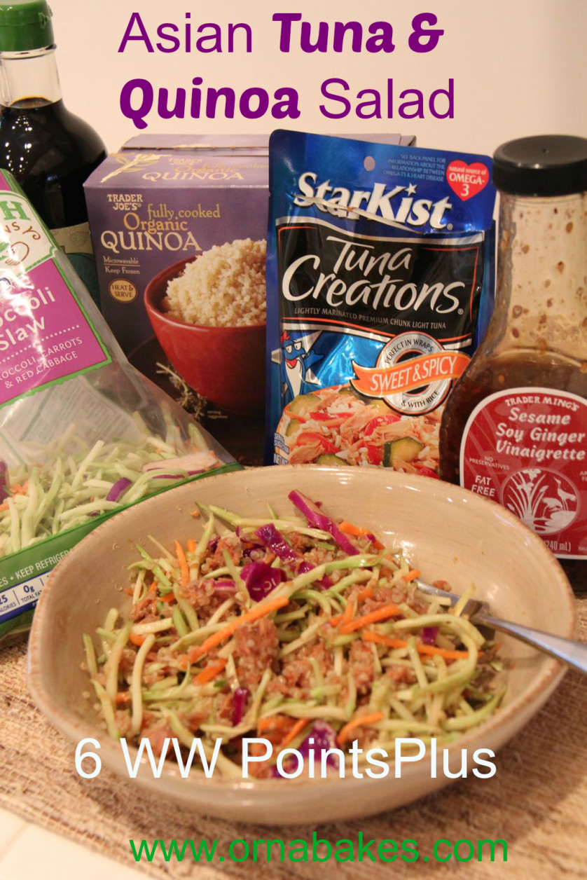 Weight Watchers Simple Start Asian Tuna Salad, 6 PointsPlus - from ornabakes.com