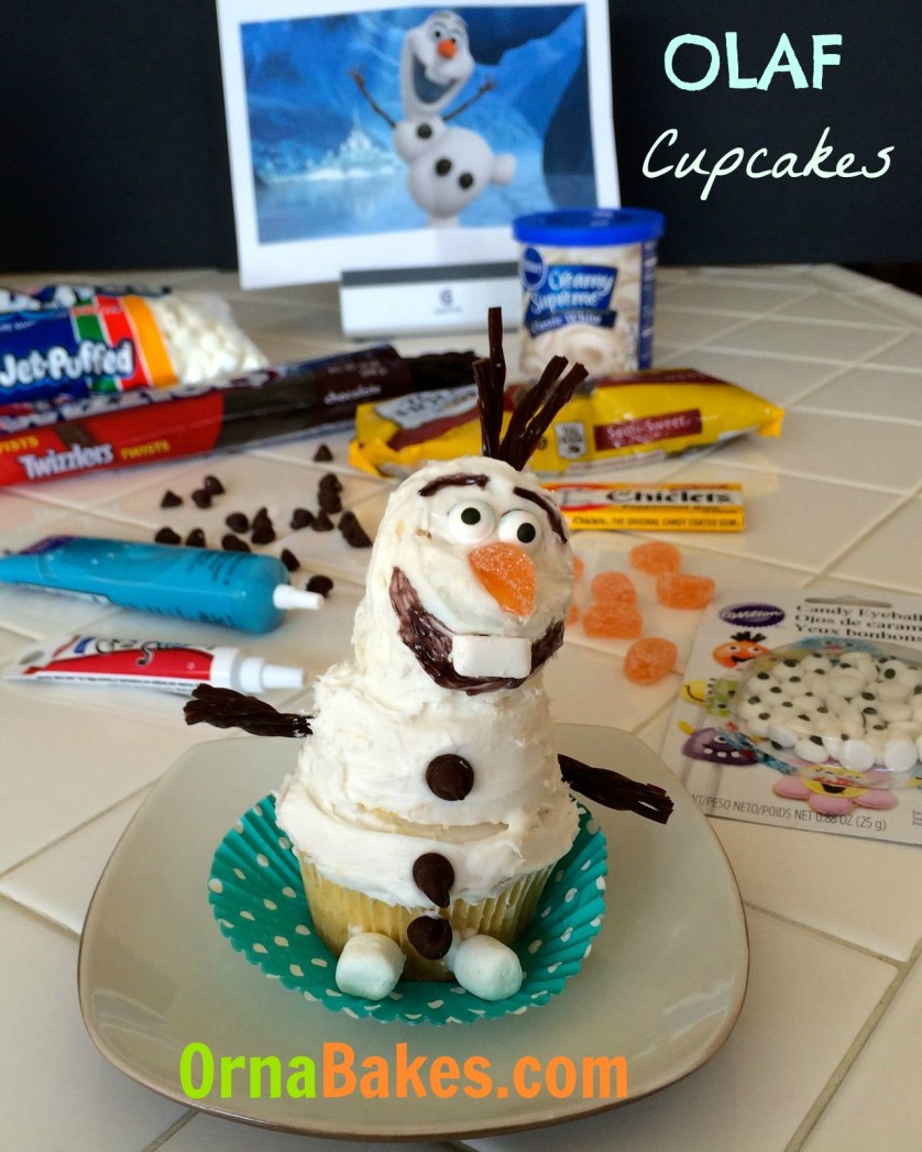 Olaf the Snowman from Frozen - www.ornabakes.com