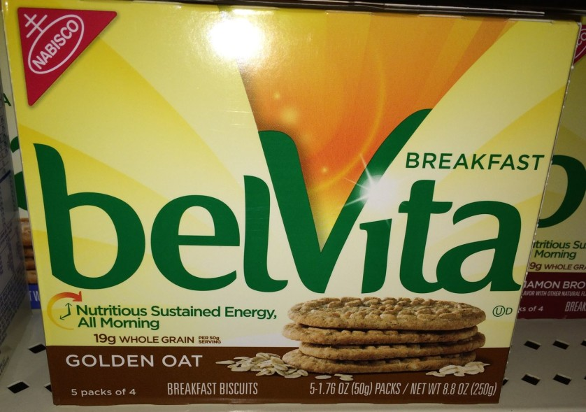 BelVita Breakfast Biscuits Golden Oat