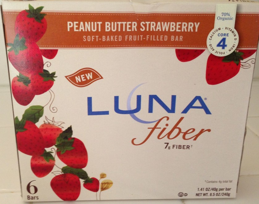 Luna Fiber Bar Peanut Butter Strawberry