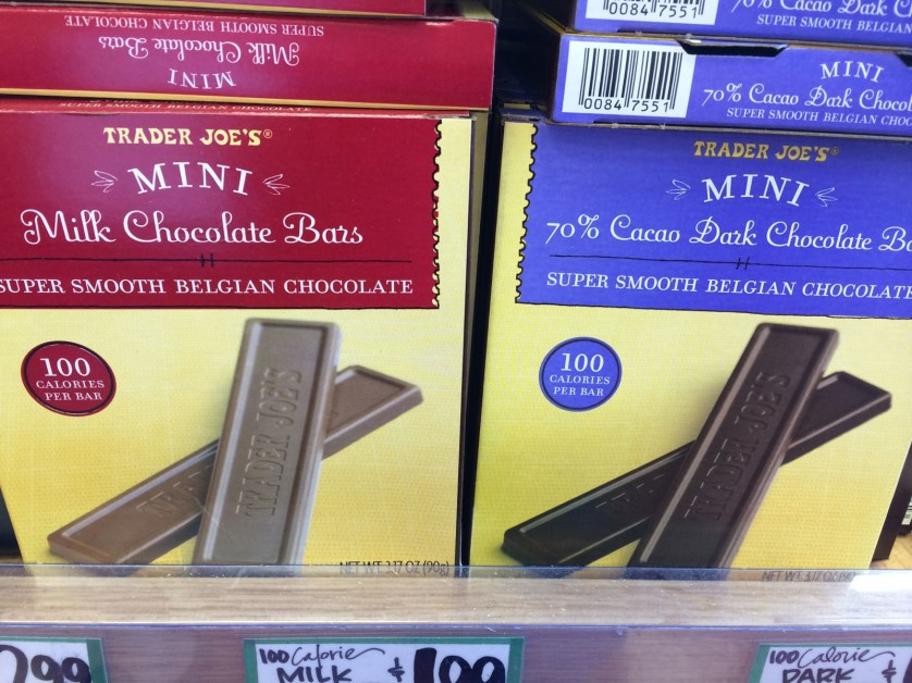 Trader Joe's Chocolate Bars